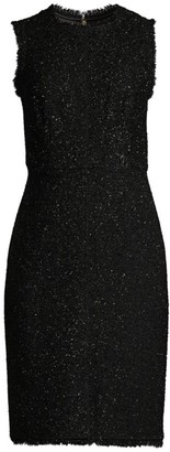 Kate Spade Tinsel Lurex Tweed Dress