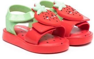 Mini Melissa Strawberry Jelly Sandals