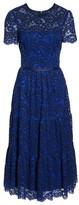 Maggy London Women's Lace Midi Dress