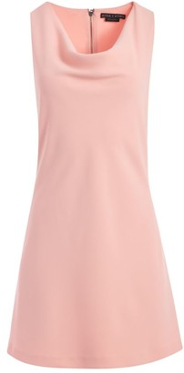 Alice + Olivia Harmony Mini Racerback A-Line Dress