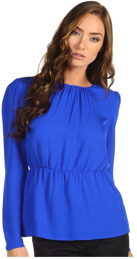 Theory Jethra Top (Bright Sapphire) - Apparel