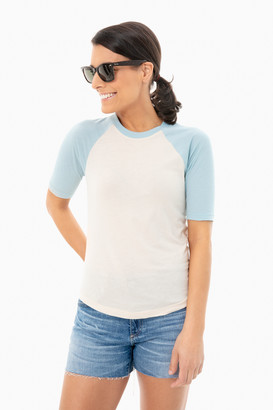 Faherty Forget Me Not Charlie Baseball Tee