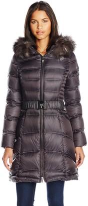 Dawn Levy Women's Cat II Down Coat with Natural Real Fox Fur Hood