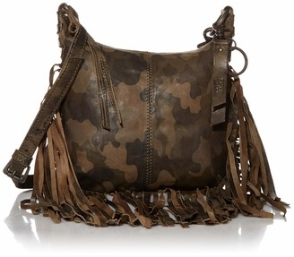 Frye Handbags Jolie Fringed Leather HOBO Bag