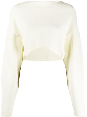 Low Classic Cropped Basic Sweatshirt