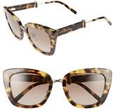 Marc Jacobs Women's 53Mm Oversized Sunglasses - Black