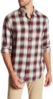 Lucky Brand Clean Classic Fit Plaid Shirt
