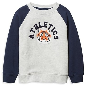 Janie and Jack Baby's, Little Boy's & Boy's French Terry Tiger Sweatshirt