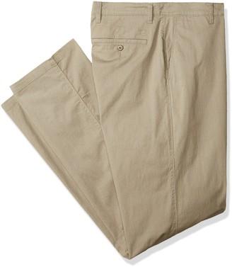 Dockers Big and Tall Big & Tall Classic Fit Washed Pants D3 Ridley Khaki 60W x 32L