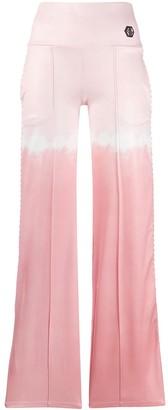 Philipp Plein tie-dye print track pants
