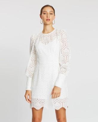 Rebecca Vallance Savannah LS Mini Dress