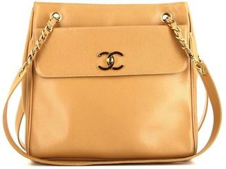 Chanel Pre Owned embossed CC shoulder bag