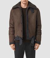 AllSaints Dachi Shearling Coat