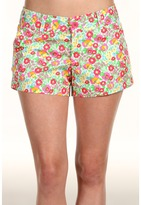 Lilly Pulitzer - Buttercup Short (Resort White Mini Gardens By The Sea) - Apparel