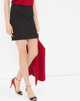 White House Black Market Paneled Mini Skirt