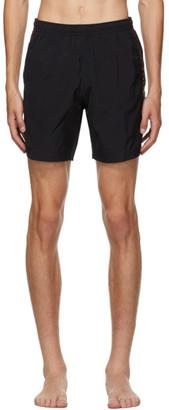 Alexander McQueen Black Logo Swim Shorts