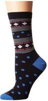 Icebreaker Lifestyle Fine Gauge Ultra Light Crew Geometry Women's Crew Cut Socks Shoes