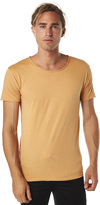 Silent Theory Basic Raw Edge Unisex Tee Orange