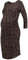 Anna Field MAMA Jersey dress fan/black