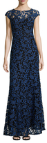 Shoshanna Floral Evening Gown