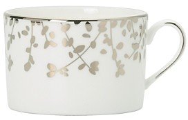 Kate Spade Gardner Street Platinum Tea Cup