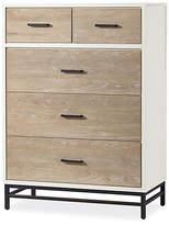 One Kings Lane Sydney Tall Dresser - Diftwood/White