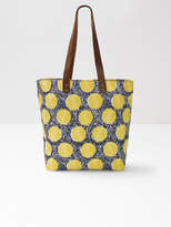 White Stuff Ginny Equator Spot Canvas Tote