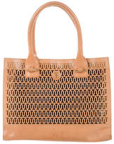 Tory Burch Perforated Leather Tote