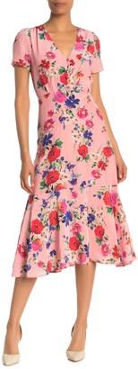 Yumi Kim Stella Floral Midi Dress