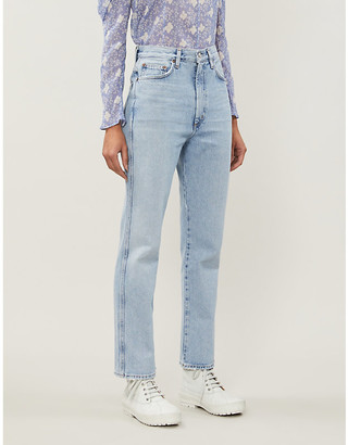 AGOLDE Pinch Waist flared high-rise jeans