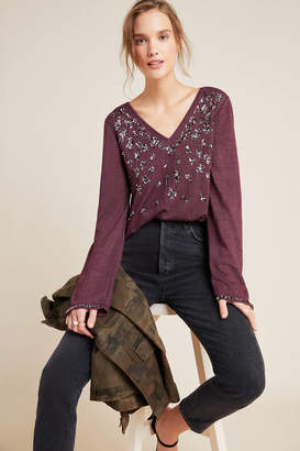 Kyra Jeanette Sequined Top