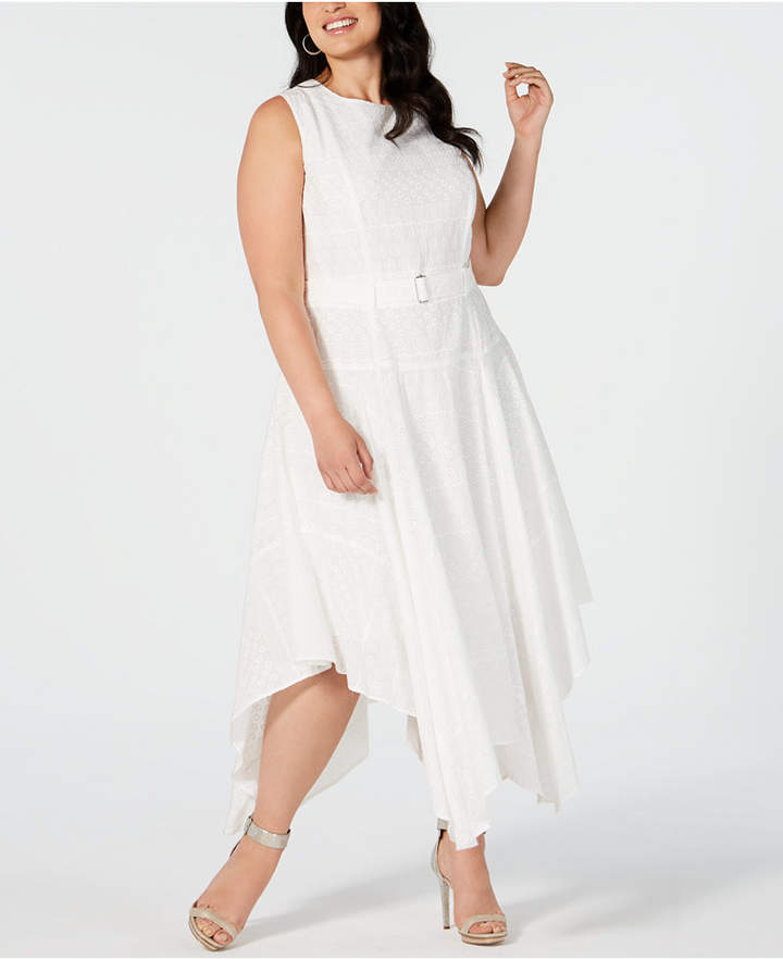 Plus Size Eyelet Dress - ShopStyle