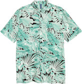 H&M Lyocell Shirt - Green/leaf - Men