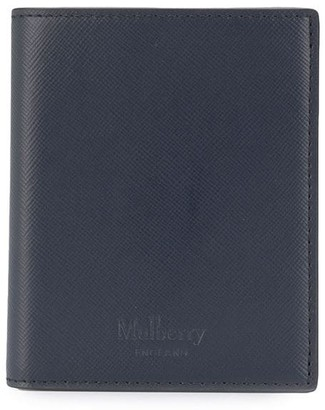 Mulberry Embossed Logo Trifold Wallet