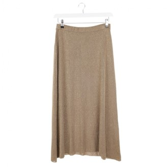 Temperley London Gold Cotton Skirts