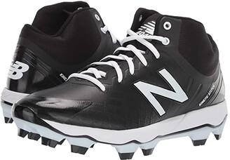 New Balance 4040v5 Mid-Cut TPU (Black/White) Men's Cleated Shoes