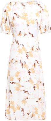 By Ti Mo Bytimo Floral-jacquard Midi Dress