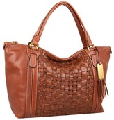 Lauren Ralph Lauren Jackson Hole Tote (Bourbon) - Bags and Luggage