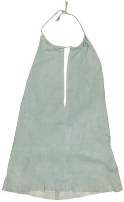 Celine Grey Leather Top for Women Vintage