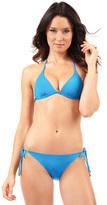 Voda Swim Cerulean String Bikini Bottom