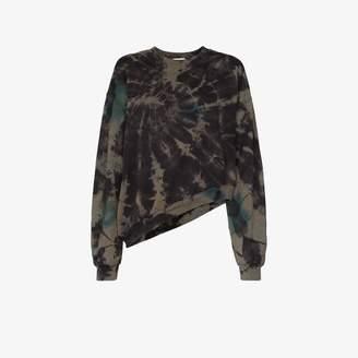 Collina Strada wave tie-dye sweatshirt