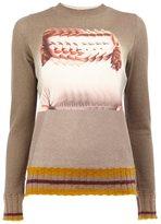 Undercover blurred woman intarsia jumper
