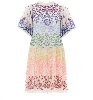 Needle & Thread Chakra Sequin Mini Dress