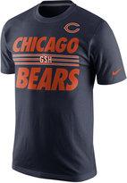 Nike Men's Chicago Bears Team Stripe T-Shirt