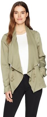Bagatelle Women's Lyocell Drape Jacket