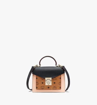 MCM Patricia Satchel in Color Block Visetos