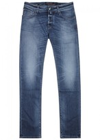 Jacob Cohën J622 Blue Slim-leg Jeans