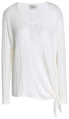 Charli Macy Asymmetric Ribbed-knit Sweater