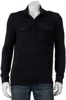 Apt. 9 Men's Modern-Fit Mockneck Quarter-Zip Sweater