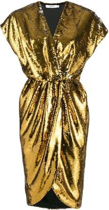 Amen Sequin Cocktail Dress